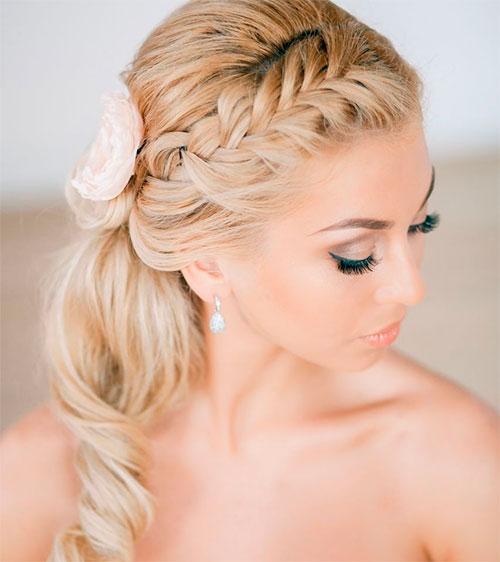 Плитение кос и стрижки для невест
