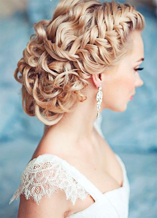 плетение кос для невест