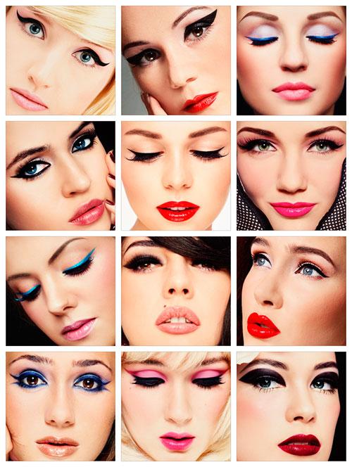 макияж лица, красивый макияж лица, необычный макияжлица, макияж лица для девушек, макияж лица для женщин