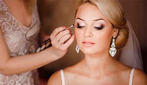 макияж для невест, услуга макияж для невест, красивый макияж для невест, макияж невесте
