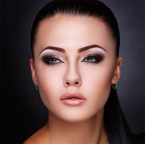 макияж вечерний, красивый макияж вечерний, необычный вечерний макияж, макияж вечерний для девушек, макияж вечерний для женщин