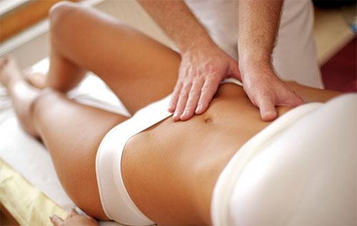 массаж живота, массаж живота для женщин, массаж живота для похудения