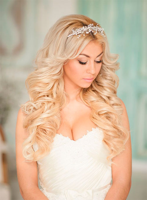 Варианты стрижек и причесок на длинные волосы для невест