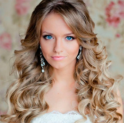 Варианты причесок и стрижек на длинные волосы для невест
