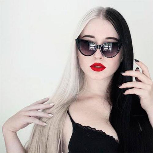 Окрашивание длинны женских волос