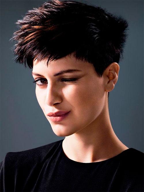 Варианты и виды окрашивания коротких волос