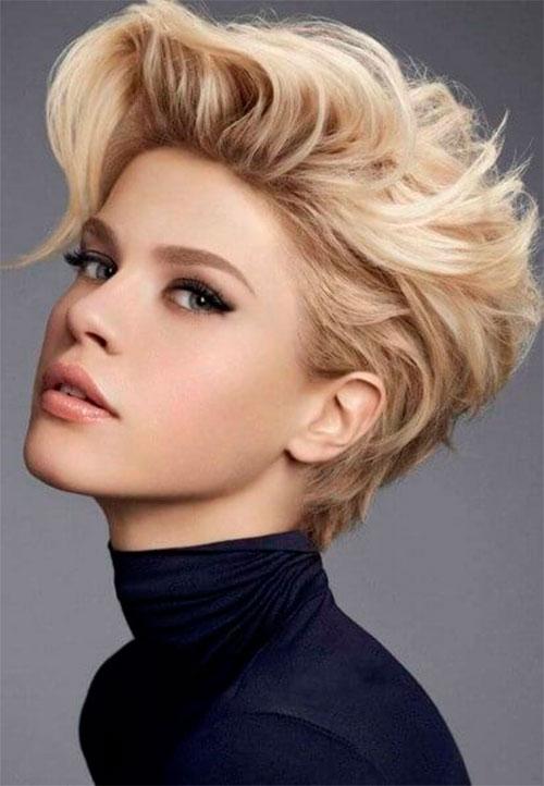 Окрашивание коротких женских волос