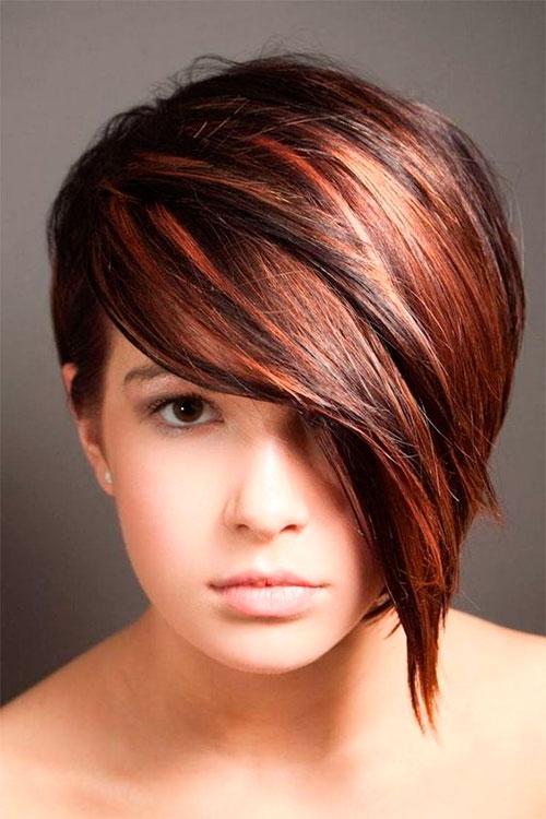 Окрашивание средних волос