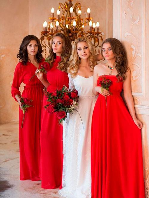 Варианты окрашивания волос для невест