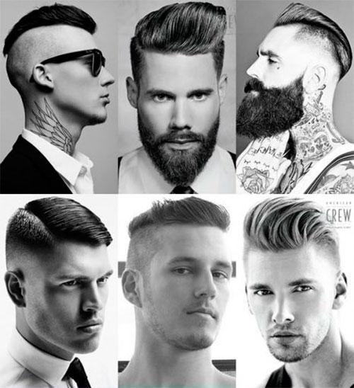Стильные мужские стрижки и прически фотографии