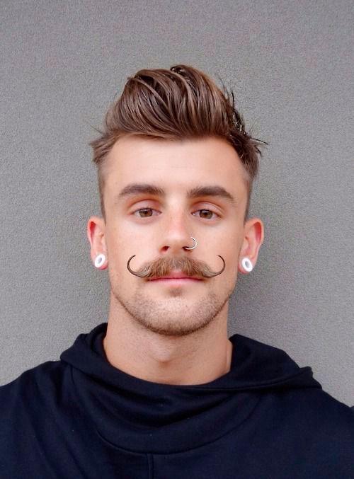 стрижка усов, уход за усами, услуга стрижка усов, стрижка усов для мужчин