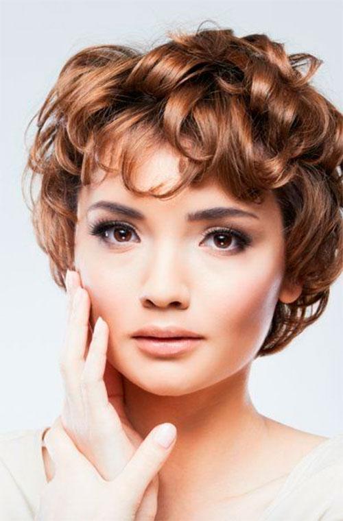 Женская укладка коротких волос