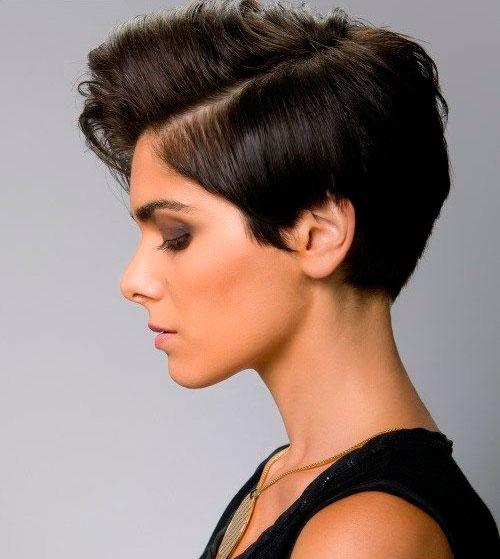 Короткие волосы укладка