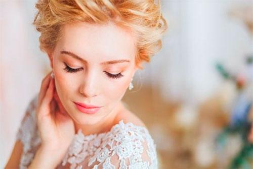 Прически и виды стрижек для невест